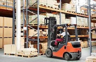 Bonded warehouse in Riga, Latvia