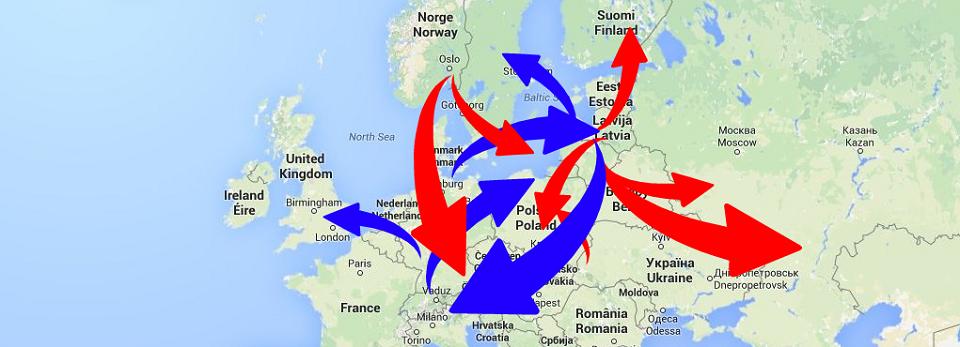 International freight transport - Europe