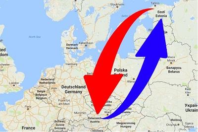 Transport From Austria to Estonia. Shipping from Austria to Estonia.