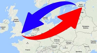Transport From UK to Estonia. Shipping from UK to Estonia.