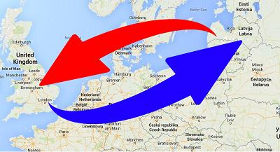 Transport from United Kingdom to Latvia and Latvia to UK. Shipping from UK to Latvia.