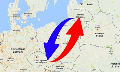 Transport From Czech Republic to Lithuania. Shipping from Czech Republic to Lithuania.