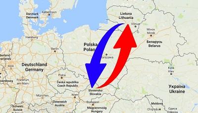 Transport Slovakia to Lithuania. Shipping from Lithuania to Slovakia.