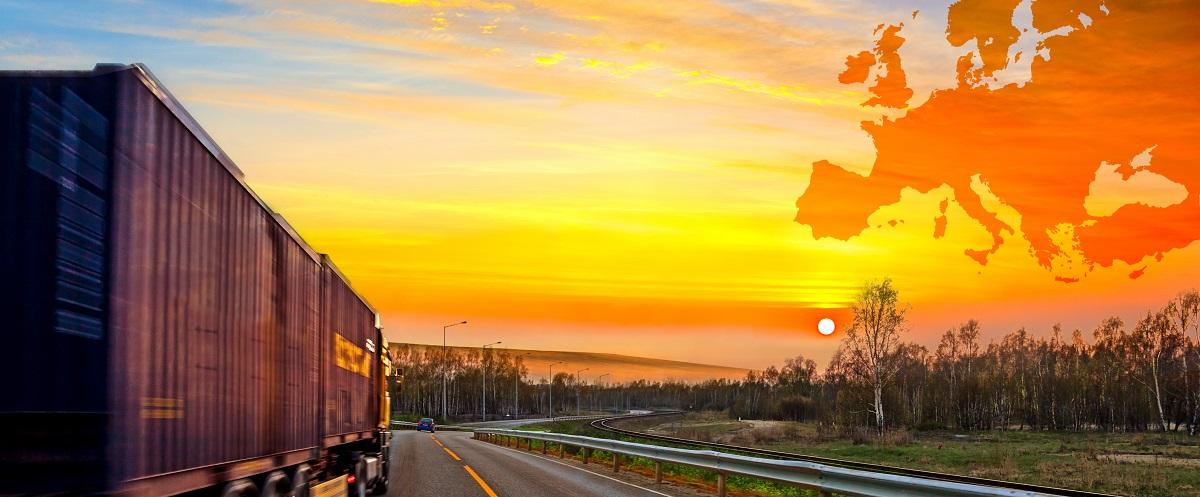 Truck on road - Transport & Logistics - OsaCargo