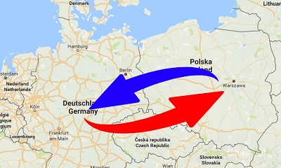 Transport Poland to Germany. Shipping from Germany to Poland.