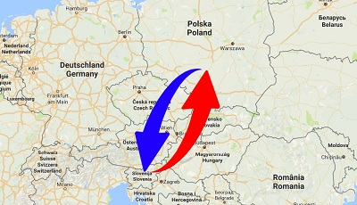 Transport Poland to Slovenia. Shipping from Slovenia to Poland.
