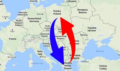 Transport Poland to Greece. Shipping from Greece to Poland.