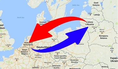 Transport Nederland naar Litouwen en van Litouwen naar Nederland.