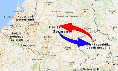Transport Germany to Czech Republic. Shipping from Germany to Czech Republic.