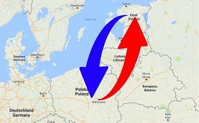 Transport From Poland to Estonia. Shipping from Poland to Estonia.