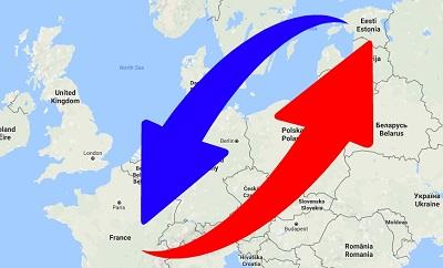 Transport de France en Estonie et de Estonie en France.
