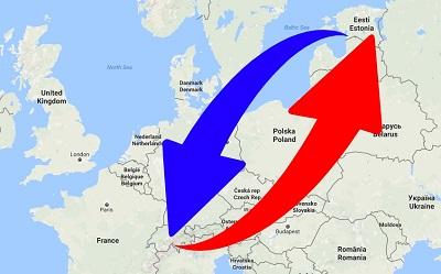 Transport de Suisse en Estonie et de Estonie en Suisse.