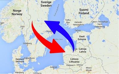 Transport från Sverige till Lettland och från Lettland till Sverige