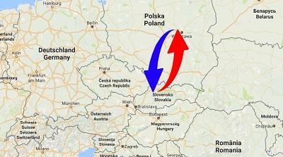 Transport Poland to Slovakia. Shipping from Slovakia to Poland.