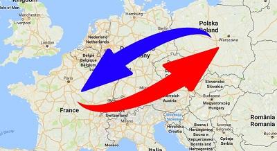 Transport de France en Pologne et de Pologne en France.