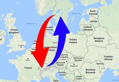 Transport Sweden to Switzerland. Shipping from Switzerland to Sweden.