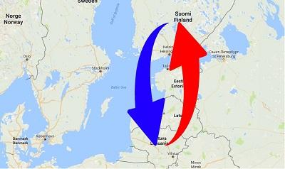 Kuljetus - Suomi - Liettua - Suomi