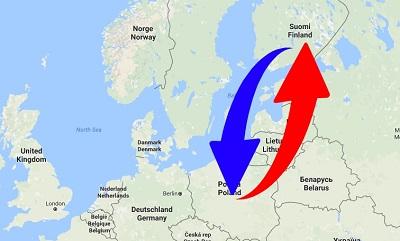 Kuljetus Suomen Puolan