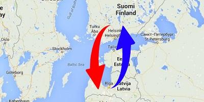 Kuljetus Suomi - Latvia - Suomi
