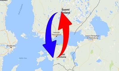Kuljetus - Suomi - Viro - Suomi