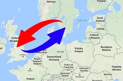 Transport Sverige - Storbritannien - Sverige