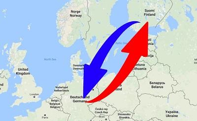 Spedition - Transport von Deutschland nach Finnland und Finnland nach Deutschland.
