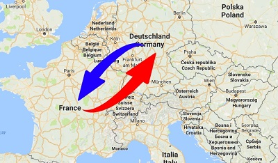 Transport Spedition Frankreich Deutschland Jpg