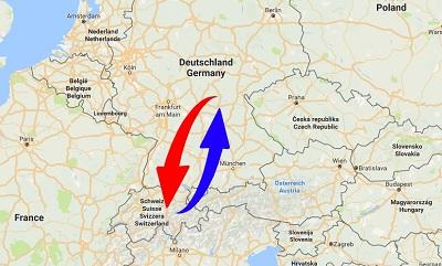 Spedition / Transport von Deutschland nach Schweiz