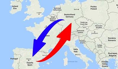 Spedition / Transport von Deutschland nach Spanien