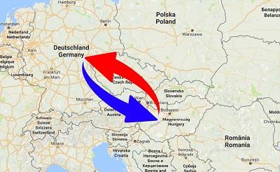 Spedition / Transport von Deutschland nach Ungarn