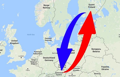 Kuljetus Suomen Itävallan