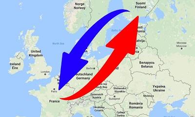 Liikenne Suomen Ranskaan - Ranskasta Suomi. Logistiikkapalvelut.