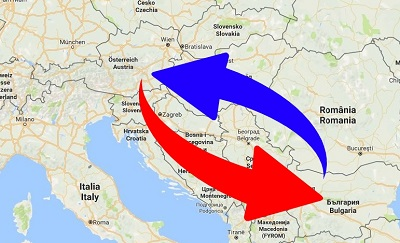 Transport Austria to Bulgaria