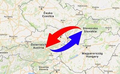 Transport Austria to Slovakia