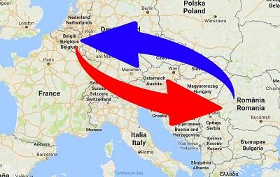 Transport Belgium to Romania