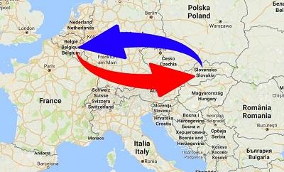 Transport Belgium to Slovakia