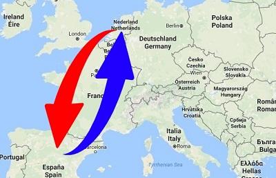 Transport Spain to Netherlands (Holland)
