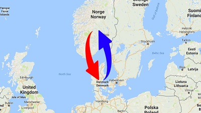 Logistics - Transport Norway - Denmark - Norway