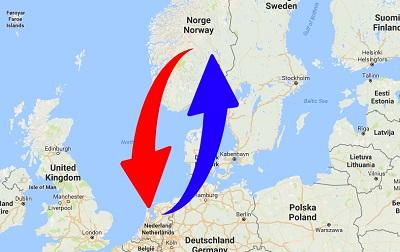 Transport Nederland naar Noorwegen