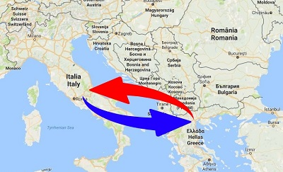 Transport greece to italy italy to greece logistics services transport greece to italy gumiabroncs Choice Image