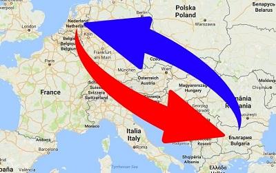 Transport Nederland naar Bulgarije