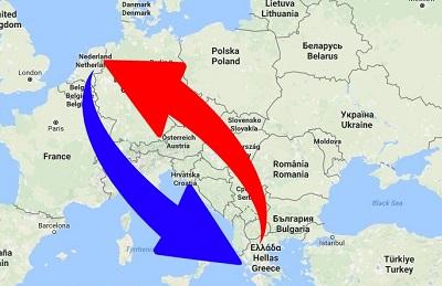 Transport Nederland naar Griekenland