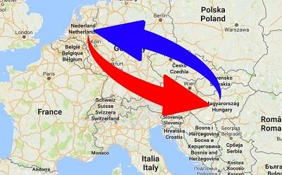 Transport Nederland naar Hongarije