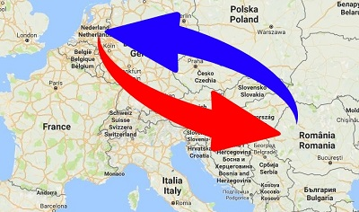 Transport Nederland naar Roemenië