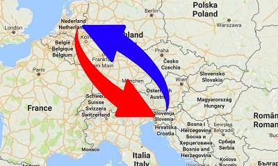 Transport Nederland naar Slovenië