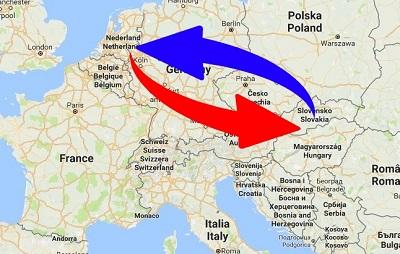 Transport Nederland naar Slowakije