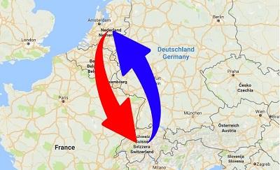 Transport Nederland naar Zwitserland